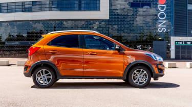 Ford Ka+ hatchback side static