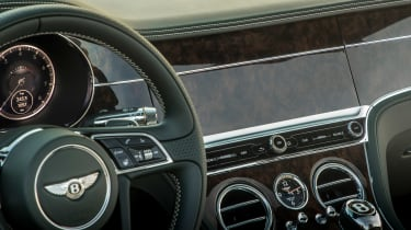Bentley Continental GT Convertible wooden veneer