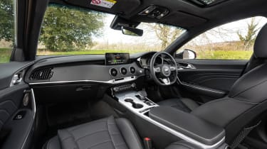 2021 Kia Stinger interior wide view