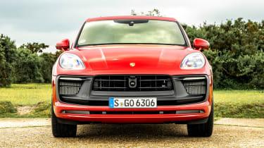 Porsche Macan SUV front static