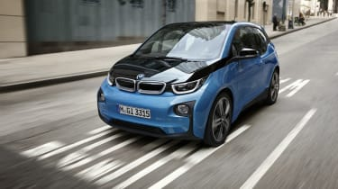 BMW's futuristic i3 is one of the most distinctive-looking hybrids on the road