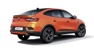 2021 Renault Arkana SUV rear view