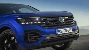 Volkswagen Touareg R front end