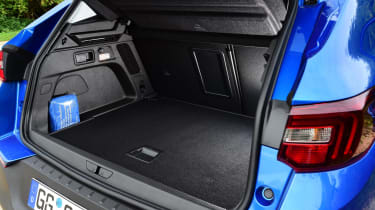 The 514-litre boot is good for the class, though make sure you get the Versatility pack as this adds split-folding rear seats