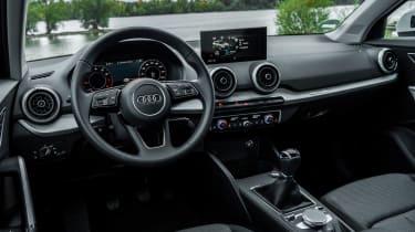 Audi Q2 SUV dashboard