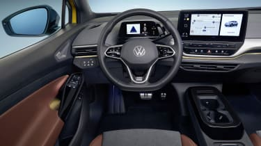 2021 Volkswagen ID.4 interior - close up