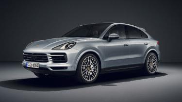 Porsche Cayenne S Coupe - front quarter