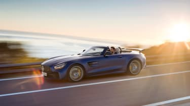 Mercedes-AMG GT R Roadster driving