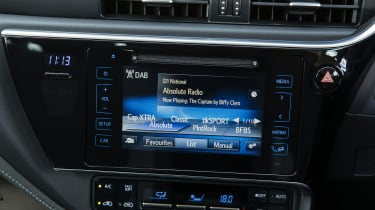 A DAB digital radio is standard on the Icon, the second trim in the range