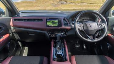 Honda HR-V SUV interior