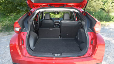 Bootspace can be expanded by sliding the rear bench seat forwards, but it never matches the Nissan Qashqai
