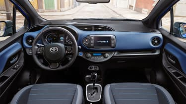 Icon models and above get a Toyota Touch 2 infotainment system