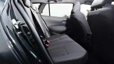 Suzuki Swace estate rear seats