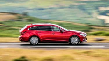 Mazda6 Tourer side