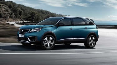 The 5008 will initially be offered with conventional petrol and diesel engines but a hybrid could join the range eventually.