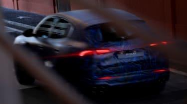 Maserati Grecale teaser rear