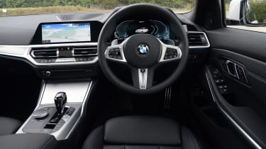 BMW 330e saloon interior