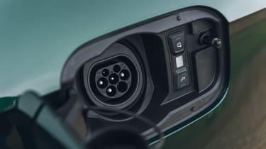 Audi Q5 55 TFSI e charging port