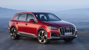 Audi Q7 SUV facelift front 3/4 static