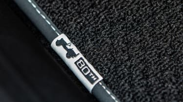 2021 Jeep Renegade 80th Anniversary - floor mats