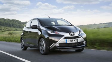 The striking Toyota Aygo makes a bold visual statement and can be extensively customised