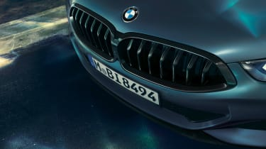 bmw M850i xdrive first edition grille