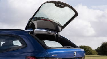 BMW 3 Series Touring rear window open