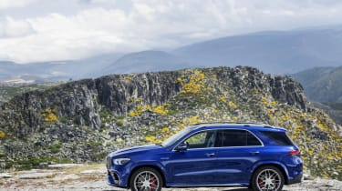 Mercedes-AMG GLE 63 S - side view static