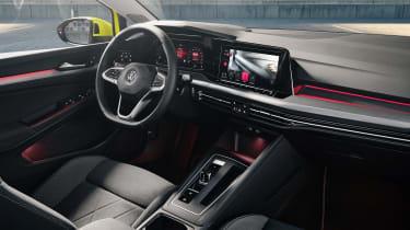 2020 Volkswagen Golf interior
