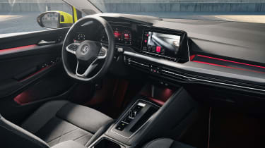 2020 Volkswagen Golf interior