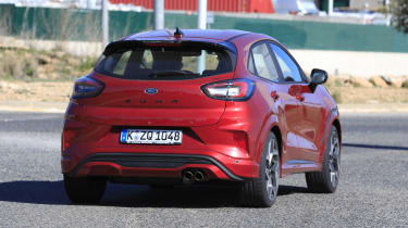 2020 Ford Puma ST - rear view passing