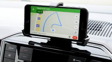 Volkswagen up! GTI hatchback smartphone cradle