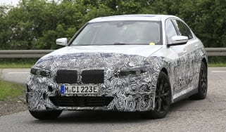 Electric BMW 3 Series in development - front