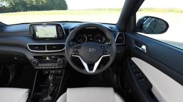 Hyundai Tucson Premium - interior