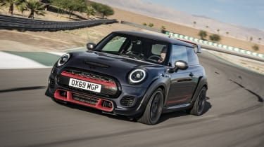MINI John Cooper Works GP - front 3/4 dynamic