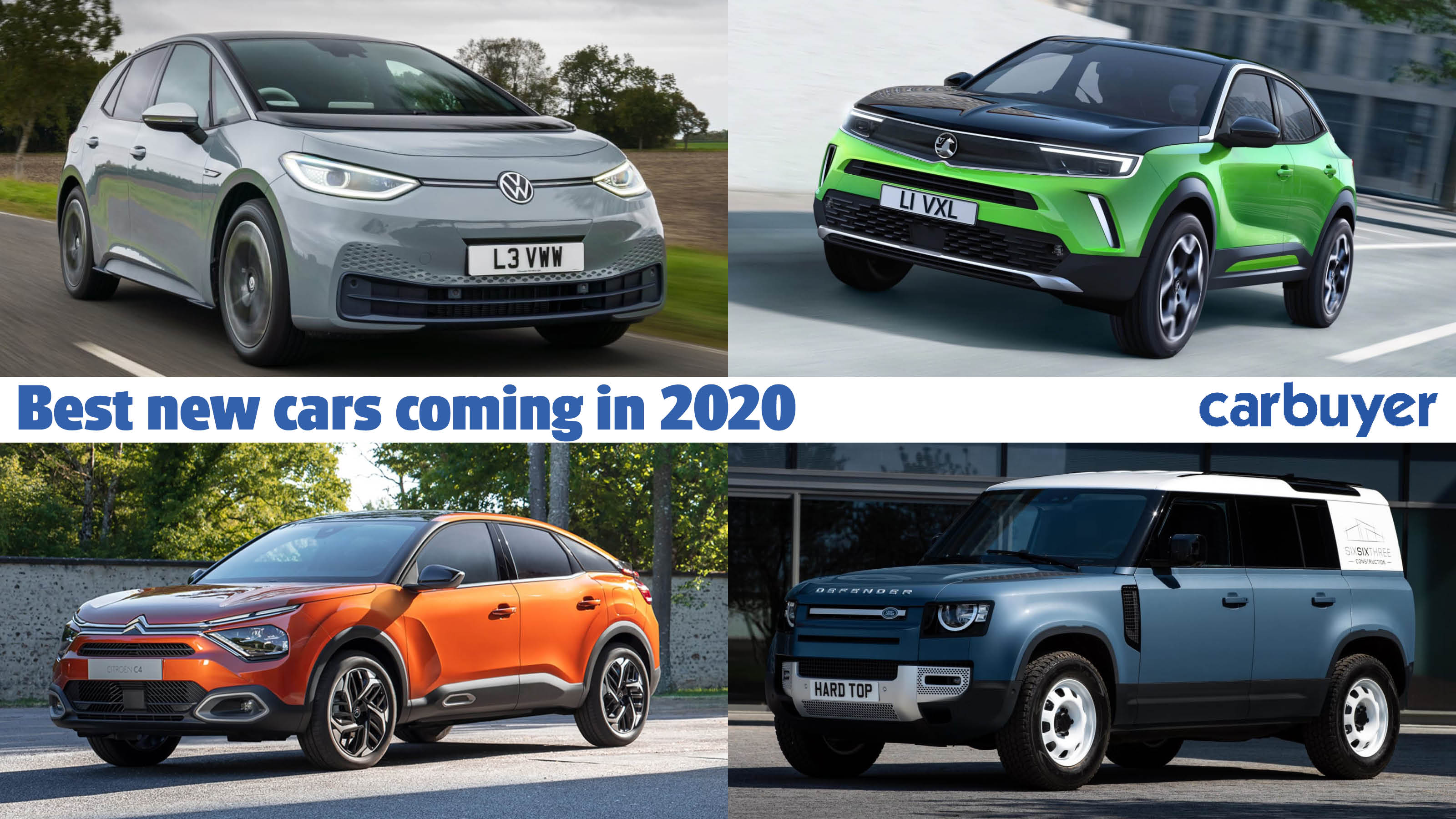 Best New Cars Coming In 2020 Carbuyer