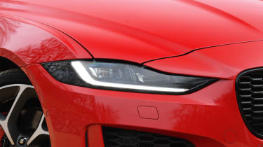 Jaguar XE saloon headlights