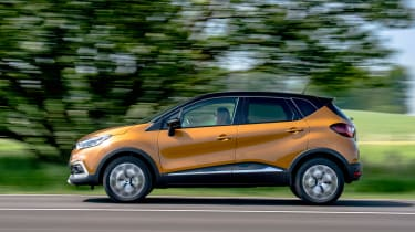 Renault is renowned for its cars' safety and the Captur is no different, being awarded a five-star safety rating by Euro NCAP.