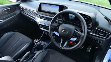 Hyundai i20 N hatchback steering wheel