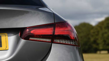 Mercedes A-Class saloon rear lights