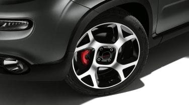 2020 Fiat Panda Sport - front alloy wheel
