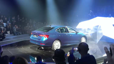 2020 Skoda Octavia hatchback - rear view