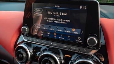 Nissan Juke SUV infotainment display