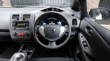 Nissan Leaf - interior