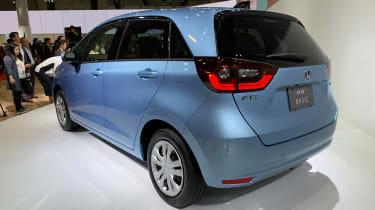 Honda Jazz hybrid rear view
