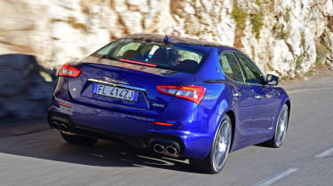 It looks sharper than before, thanks to new bumpers and a new rear diffuser element to improve its aerodynamics