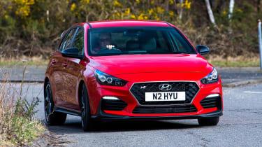 Hyundai i30 N front driving