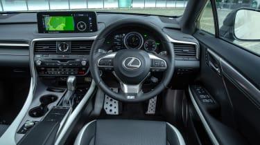 Lexus RX SUV interior