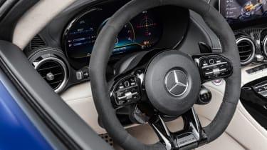 Mercedes-AMG GT R Roadster steering wheel