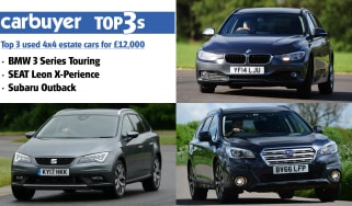 Top 3 used 4x4 estate cars for £12,000 - hero